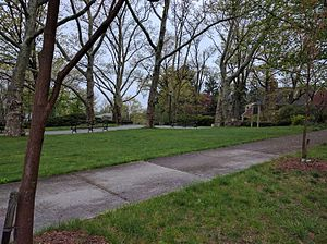 Douglaston Hill Historic District - Catherine Turner Richardson Park, Douglaston Hill Historical District, Queens, NY