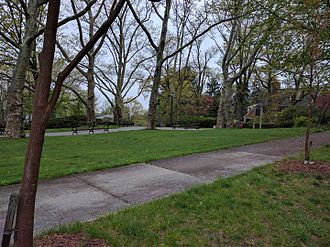 Douglaston Hill Historic District - Catherine Turner Richardson Park, Douglaston Hill Historical District, Queens, NY