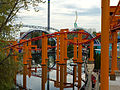 Cedar Point Iron Dragon track over lagoon (3490).jpg