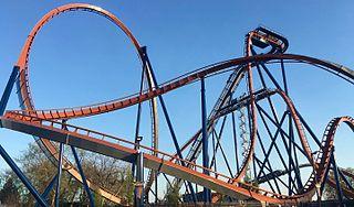 Valravn (roller coaster) steel dive roller coaster at Cedar Point