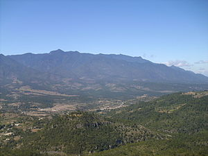 Cerro Las Minas - The Cordillera de Celaque