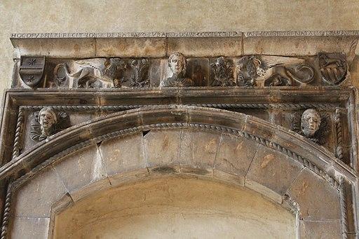Natale di Ragusa, Portale (dettaglio), Cenacolo di Santo Spirito Florence