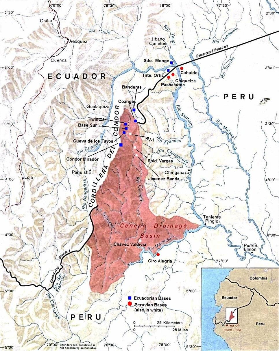 Cenepa river basin
