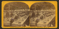 Centennial celebration at Buxton, Me. The tables before dinner, 1200 feet long. Aug. 14, 1872, by Towle, S. (Simon).png