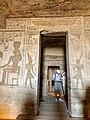 Central Hall, Temple of Hathor and Nefertari, Abu Simbel, AG, EGY (48016717748).jpg