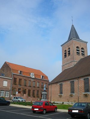 Camphin-en-Pévèle - Image: Centre de Camphin en Pévèle 1