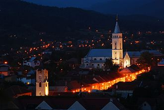 Assumption of Mary Cathedral, Baia Mare - another view