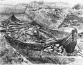 CfO0840B museum no. O1904 oseberg, O1904 utgravning (Oseberg ship excavation 1904. Photo Olaf Væring, Kulturhistorisk museum UiO Oslo, Norway. License CC BY-SA 4.0).jpg