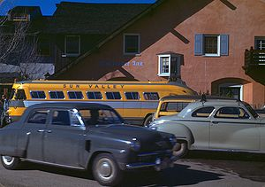 Sun Valley, Idaho - Image: Challenger Inn, ( Sun Valley Inn ), Idaho. Kodachrome by Chalmers Butterfield