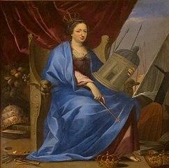 portrait allégorique d'Anne d'Autriche