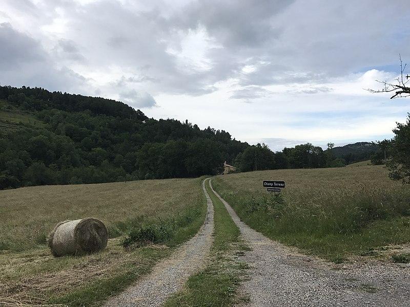 Hameau de Champ Terreau (Chanterolles), en Ardèche.