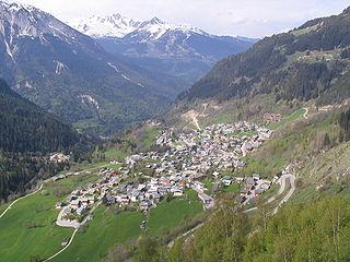 Champagny-en-Vanoise Commune in Auvergne-Rhône-Alpes, France