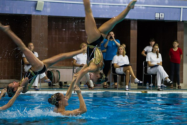 Championship of the North-West Federal District in synchronized swimming (2016-10-20) 02.jpg