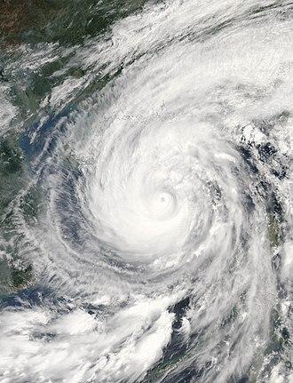 2006 Pacific typhoon season - Image: Chanchu 2006 05 16 0540Z