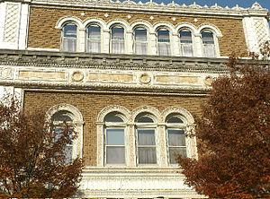 Chapel Street Historic District - 124 Temple St. (1909).
