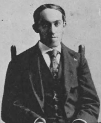 Charles McCarthy (progressive) - McCarthy pictured in The Pandora 1898, Georgia yearbook