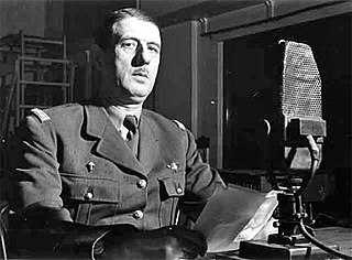 Appeal of 18 June 1940 speech by Charles de Gaulle