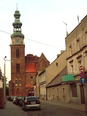 Roman Catholic Diocese of Toruń -  The Co-Cathedral of the Holy Trinity in Chełmża
