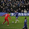 Chelsea 1 lLiverpool 0 (2-1 agg) Capital One Cup semi final 2nd leg On our way to Wembley! (16203132608).jpg