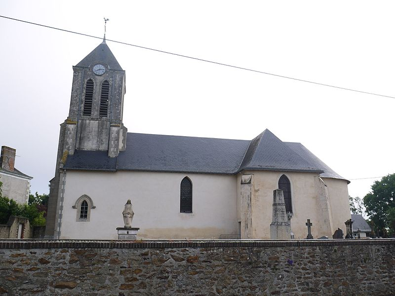 L'église Saint-Léonard.