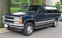 GMT400 Chevrolet Suburban 1500