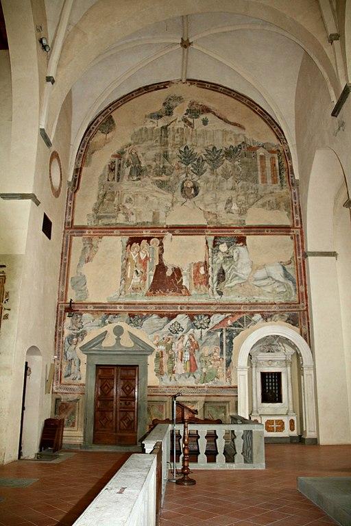 Chiesa San Francesco (Lucignano) transetto