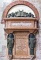 Chiesa San Lorenzo Vicenza - Interno - transetto destro - monumento funebre Giacomo Zanella.jpg