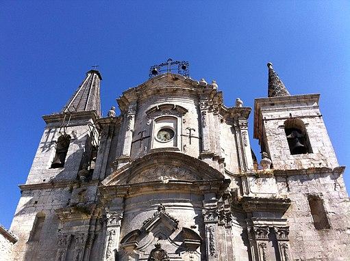 Chiesa di Petralia Soprana - facciata