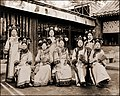 China, Manchu Ladies Of The Palace Being Warned To Stop Smoking (c1910-1925) Frank & Frances Carpenter (RESTORED) (4073803008).jpg