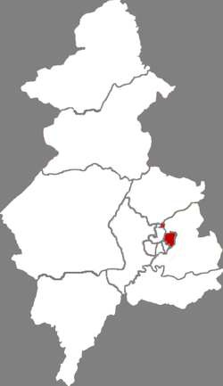 Location in Shenyang City