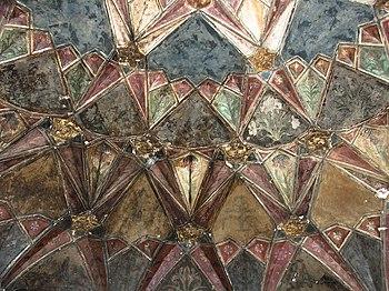 Chini-Ka-Rauza, Agra - Detailed Ceiling.jpg