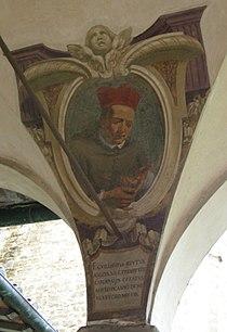 Chiostro di ognissanti, personalità francescane 47 William Peto.JPG