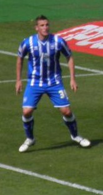 Chris Wood (footballer, born 1991) - Wood playing for Brighton & Hove Albion in 2011