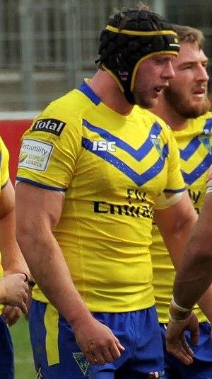 Chris Hill (rugby league) - Image: Chris Hill Warrington
