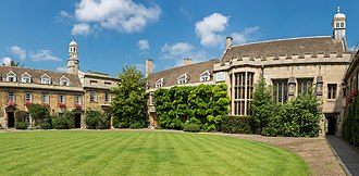 Christ's College, Cambridge - Image: Christ's College First Court, Cambridge, UK Diliff