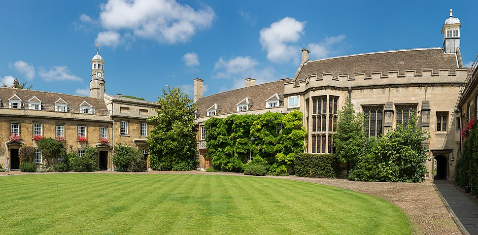 Christ's College First Court, Cambridge, UK - Diliff