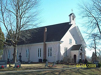 National Register of Historic Places listings in Calvert County, Maryland - Image: Christ Church North Dec 08