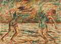 Christian Rohlfs Zwei tanzende Frauen am Strand 1926.jpg