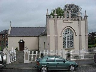 Tallanstown Town in Leinster, Ireland
