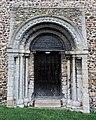 Church of St John, Finchingfield Essex England - Tower west door.jpg