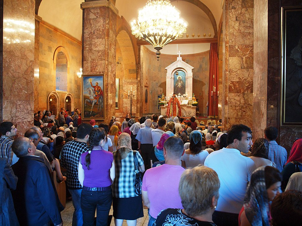 Church service, Yerevan (5211267961)