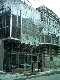 Cinémathèque québécoise cinema and archive in Montreal, Quebec, Canada
