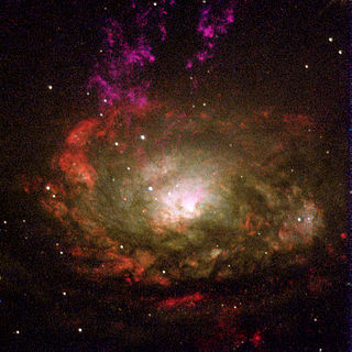 Seyfert galaxy A class of active galaxies with very bright nuclei