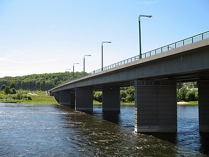 Как доехать до Čiurlionio Tiltas на общественном транспорте