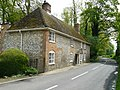 Clanville - Brick And Flint Cottage - geograph.org.uk - 789957.jpg