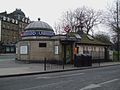 Clapham Common stn west entrance.JPG