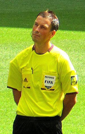 UEFA Euro 2016 Final - Mark Clattenburg was the final's referee.