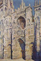 La Cathédrale de Rouen, le Portail et la Tour Saint-Romain, Plein soleil