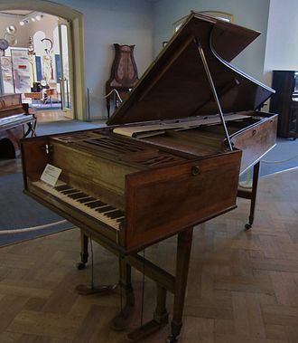 John Joseph Merlin - Harpsichord-Piano, 1780, Deutsches Museum Munich