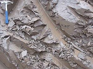 Quaternary clay in Estonia.